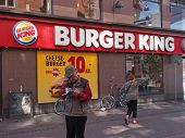 Burger King Shop Copenhagen