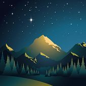 Glowing Mountains