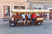 Pedal Powered Bar On The Wheels