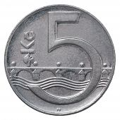 Czech Koruna Coin