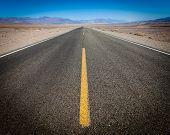 Open Road, Death Valley, California