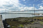 View Toward Forth Road Bridge