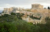 image of akropolis  - View of the Akropolis in Athens Greece - JPG