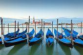 Gondlas, Venice, Italy