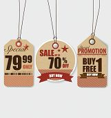foto of coupon  - Price tag - JPG