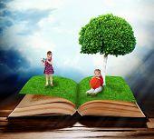 Fantasy tale book