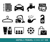Hotel & Travel icons set // 03