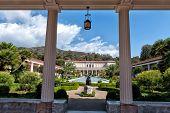 The Getty Villa in Malibu, Los Angeles