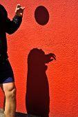 soccer play shadow