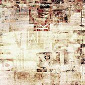 newspaper, magazine grunge letters background