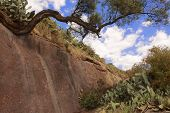 stock photo of ethiopia  - Jordan river bed Lalibela Ethiopia UNESCO World Heritage site - JPG