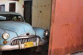 Old-fashioned Cuban Car