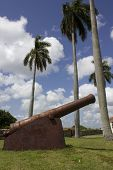 Slave Route Museum And The Clouds, Cuba. The Slave Route Museum [museo De La Ruta Del Esclavo] Has B