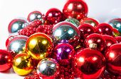 Colored Balls Christmas Decoration