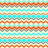 Ethnic tribal zig zag seamless pattern. Vector illustration