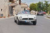 Bmw 507 Touring Sport (1957) In Mille Miglia 2014