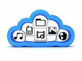 Internet Cloud storage, Symbol