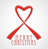 Merry Christmas With Hearth Symbol
