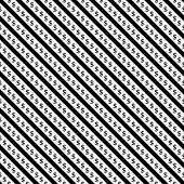 Black And White Dollar Signs And Stripes Pattern Repeat Background