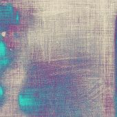 Antique vintage textured background. With different color patterns: gray; blue; purple (violet)