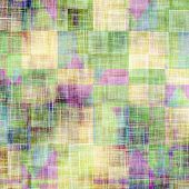 Old-style background, aging texture. With different color patterns: gray; blue; green; purple (violet); brown; yellow