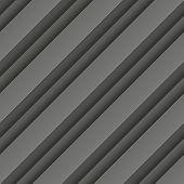 Abstract dark grey geometric rectangles seamless pattern