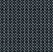 stock photo of grids  - Silver metallic grid background pattern - JPG