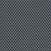 Silver metallic grid background pattern