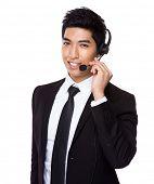 Customer services operator
