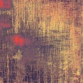 Rough grunge texture. With different color patterns: yellow; purple (violet); orange; brown; gray
