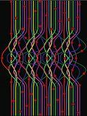 linha de cor