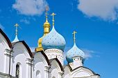 Постер, плакат: Cathedral of All Saints of the Kazan Kremlin