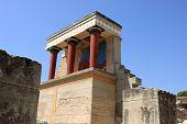 pic of minos  - Knossos on Crete - JPG
