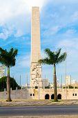 picture of obelisk  - Obelisk in Ibirapuera Park in Sao Paulo - JPG