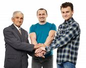 foto of helping others  - Male generations  - JPG