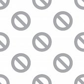 pic of bans  - New Ban white and black seamless pattern for web design - JPG