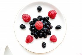 picture of incredible  - incredibly beautiful composition of berries - JPG