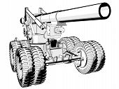 203Mm_Howitzer - Perspective View