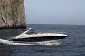 Beautiful Ocean Powerboat