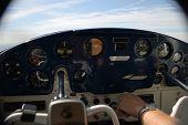 Small Airplane Cockpit