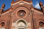 Church Of Santa Maria Del Carmine, Milan,italy
