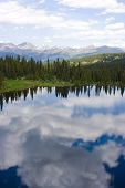 stock photo of colorado high country  - one of many beautiful back country locations in southwest colorado - JPG