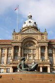 image of west midlands  - Birmingham Council House at Victoria Square - JPG