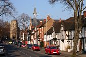 stock photo of west midlands  - Typical English architecture - JPG