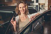 Visiting Car Dealership poster