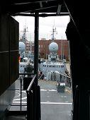 pic of labo  - portrait of german navy ship in ocean - JPG
