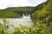 Kinzua Dam and the Allegheny River in the Allegheny National Forest