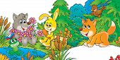 pic of cartoon animal  - Clip - JPG