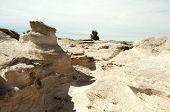 foto of paleozoic  - sandstone wash - JPG