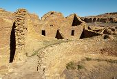 Pueblo Del Arroyo native american indian ruins and kiva